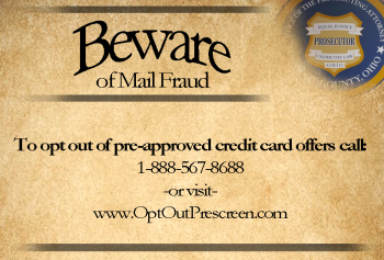 Mail Fraud Card